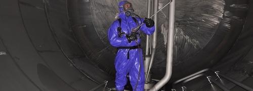 Anzug-Blau-machen